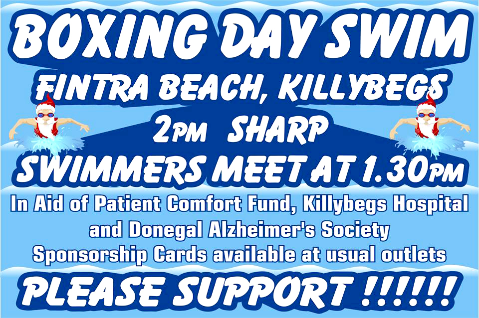 Boxing Day Swim in aid of Alzheimer's Donegal Branch and Killybegs ...